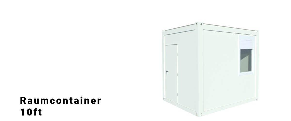 Algeco 10ft Raumcontainer