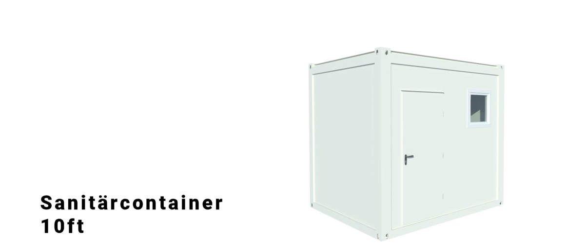 Algeco 10ft Sanitärcontainer