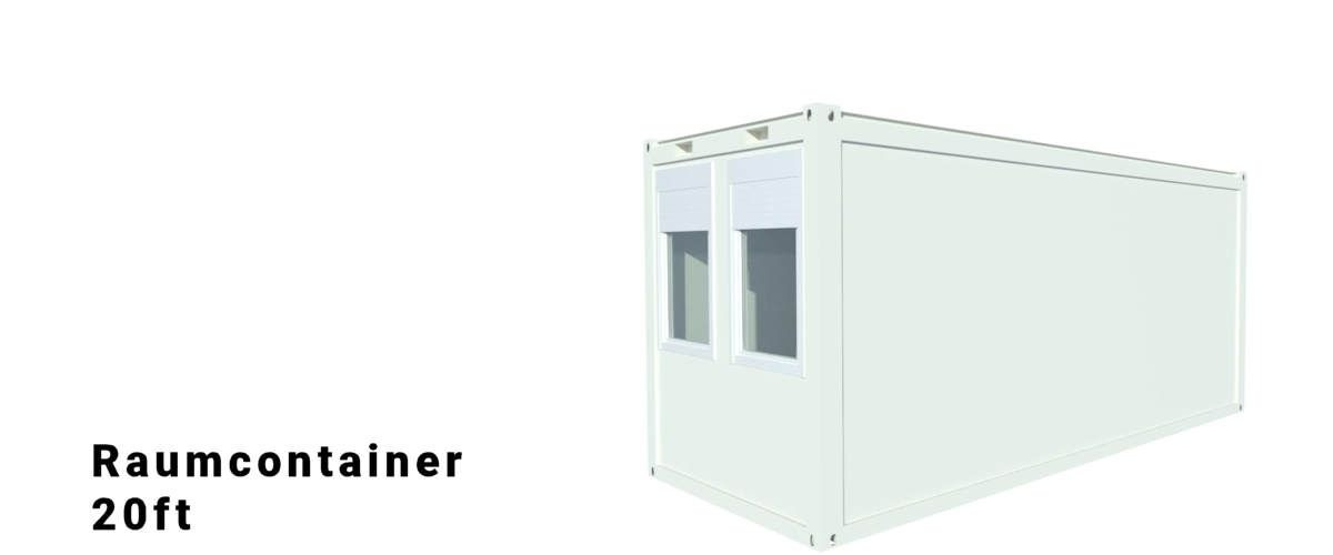 Algeco 20ft Raumcontainer