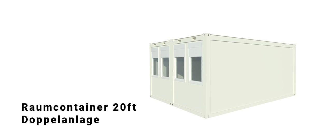 Algeco Raumcontainer Doppelanlage