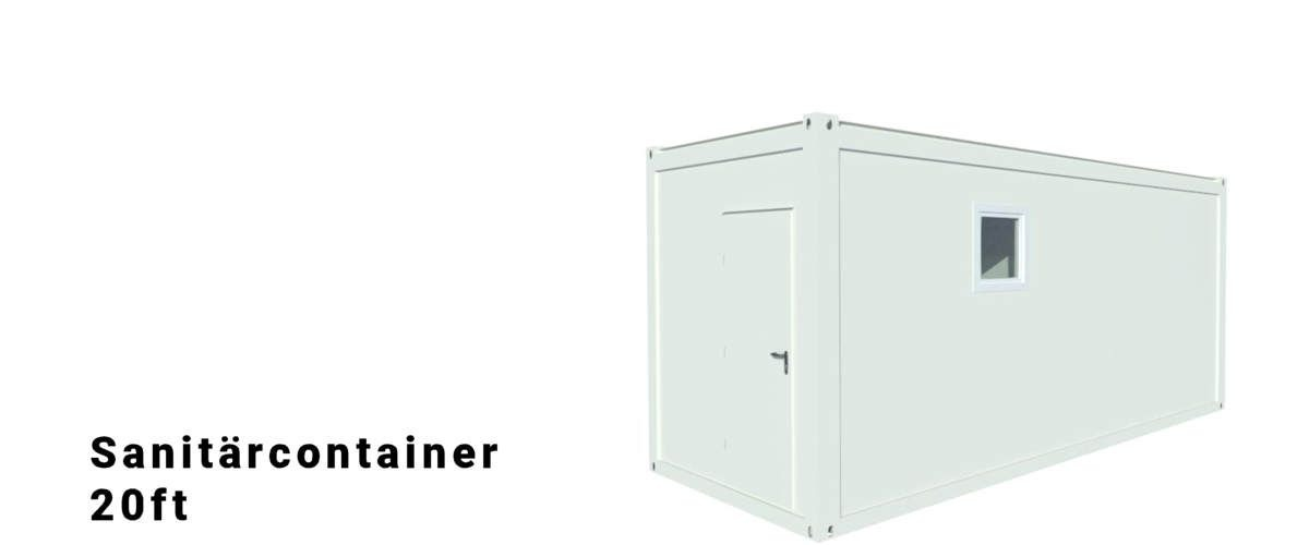 Algeco 20ft Sanitärcontainer