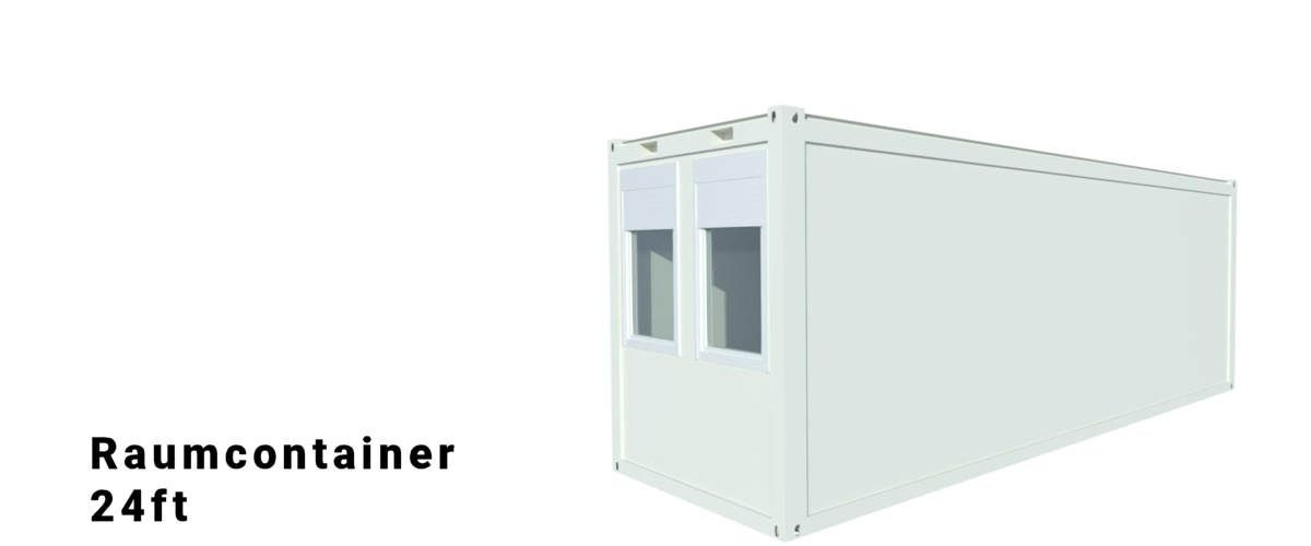 Algeco 24ft Raumcontainer