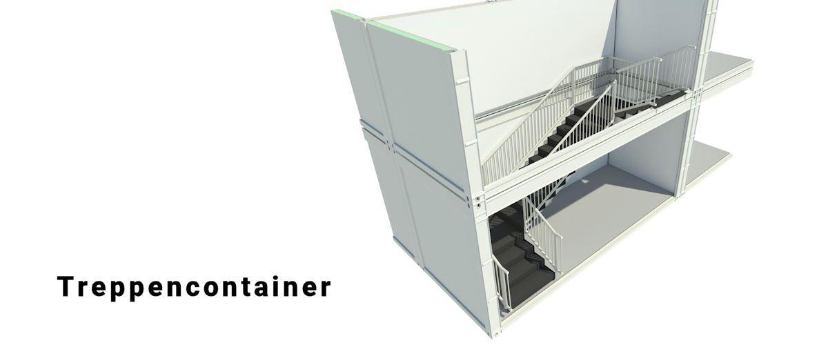 Algeco Treppencontainer