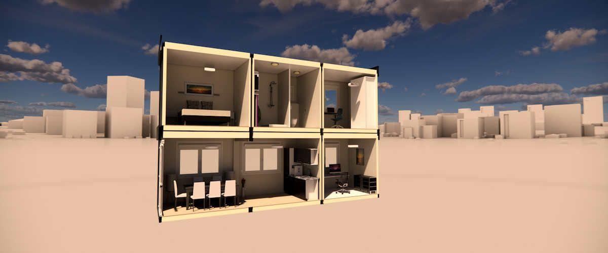 Algeco Wohncontainer