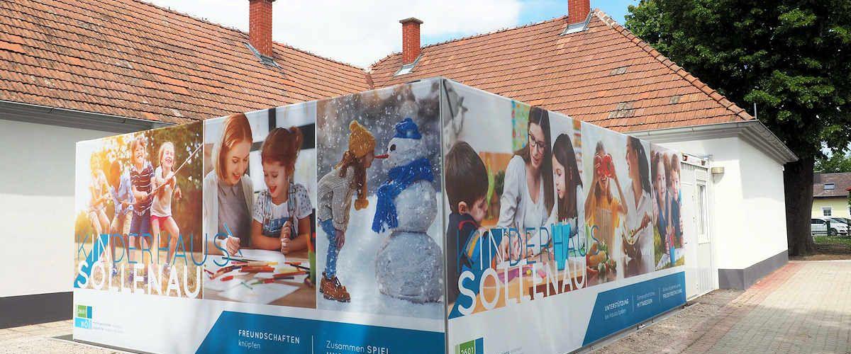 Algeco Raumcontainer Miete Kinderhaus