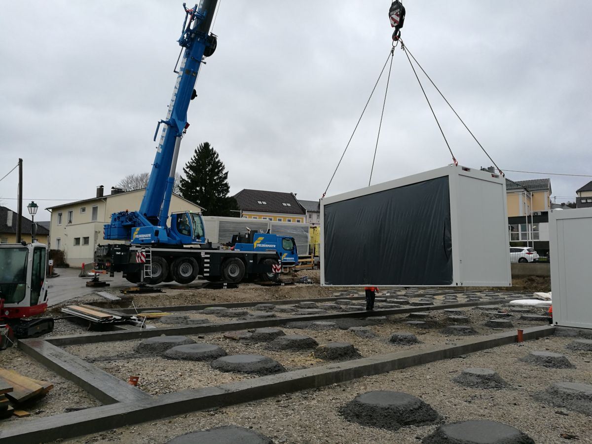 Algeco Baustelle Raumcontainer