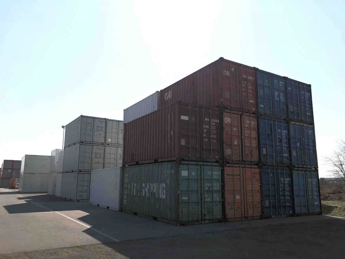 Algeco Seecontainer lagernd