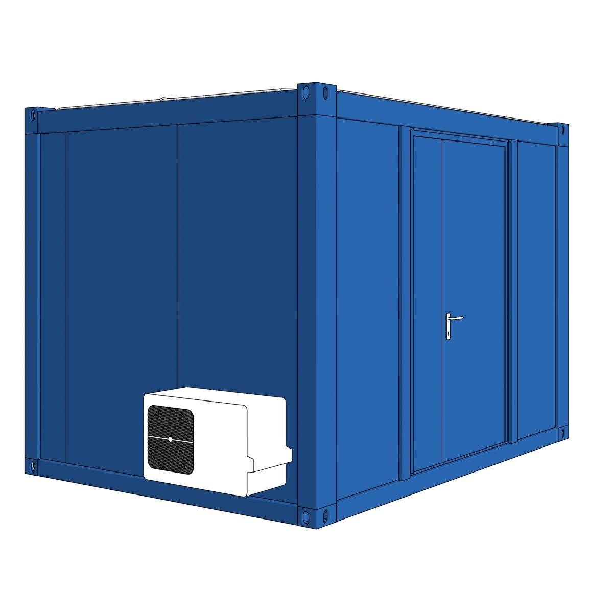 Algeco Schaltschrankcontainer