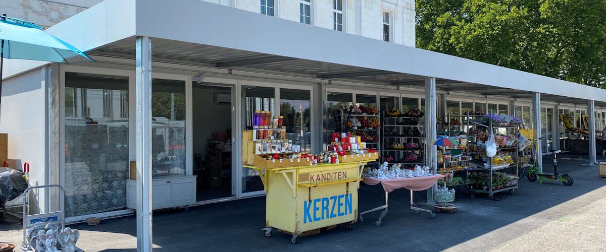Algeco Shopcontainer