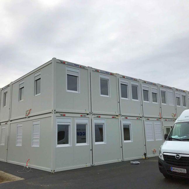 Algeco Raumcontainergebäude