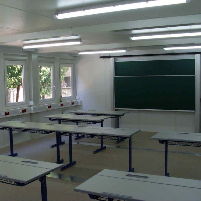Algeco Raumcontaineranlage Schule
