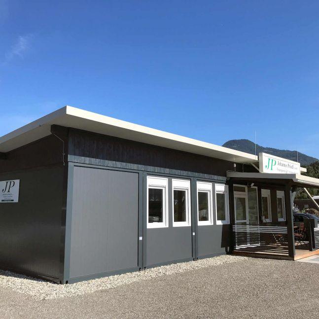 Algeco Raumcontainer Büroanlage
