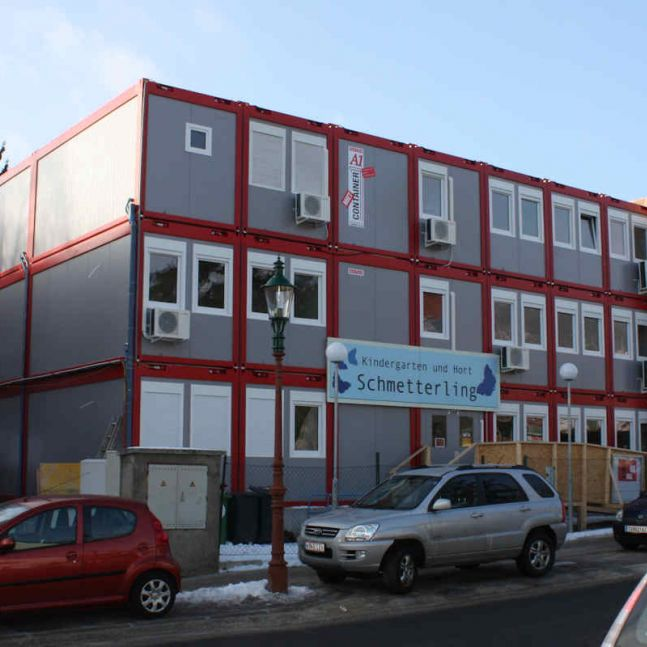 Algeco Raumcontaineranlage Kindergarten