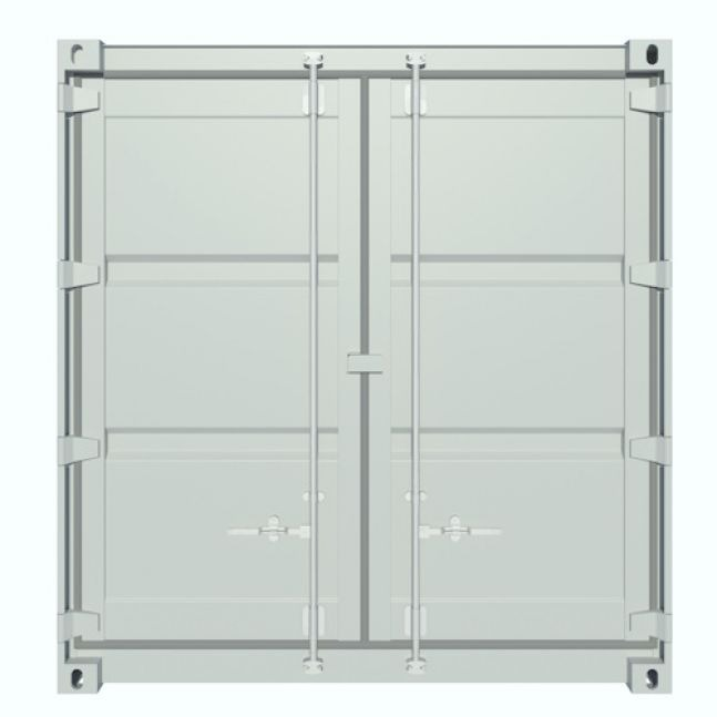 Algeco 20ft Lagercontainer