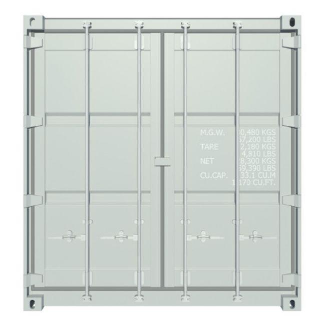 Algeco 20ft Seecontainer