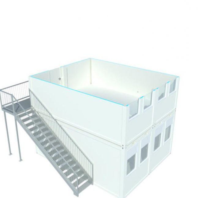 Algeco Raumcontainer Doppelanlagen