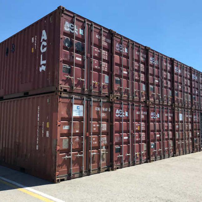 Algeco Seecontainer gebraucht