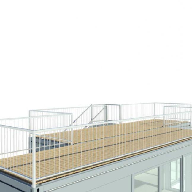 Algeco Terrassencontainer