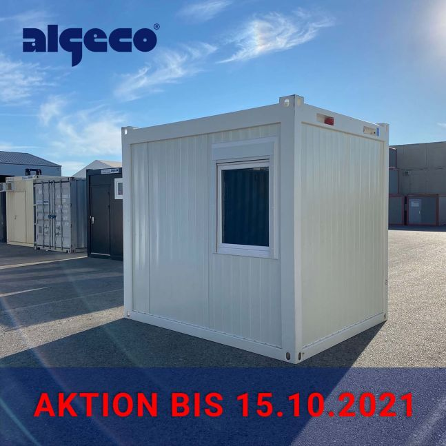 Algeco Raumcontainer Aktion