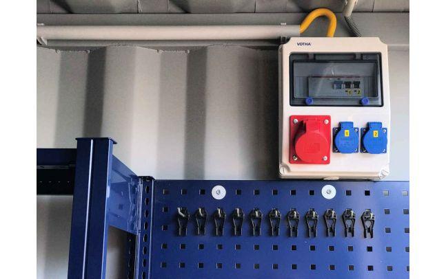 Algeco 360 Grad Service Lagercontainer Zusatzausstattung